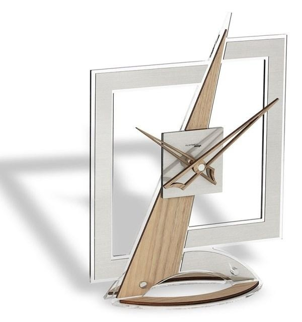 Designové stolní hodiny I182NN IncantesimoDesign 37cm