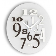 Designové nástěnné hodiny I036W IncantesimoDesign 35cm - záruka 3 roky