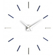 Designové nástěnné hodiny I200MBL blue IncantesimoDesign 90-100cm - záruka 3 roky + doprava ZDARMA!