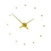 Designové nástěnné hodiny NOMON OJ hořčicové 50cm