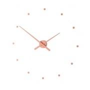 Designové nástěnné hodiny NOMON OJ starorůžové 50cm