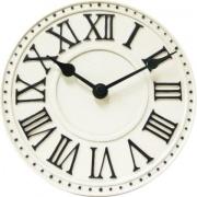 Designové nástěnné hodiny 5187wi Nextime v aglickém retro stylu 17cm