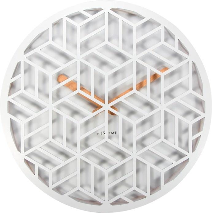 Nástěnné hodiny 3215wi Nextime Discrete 36cm