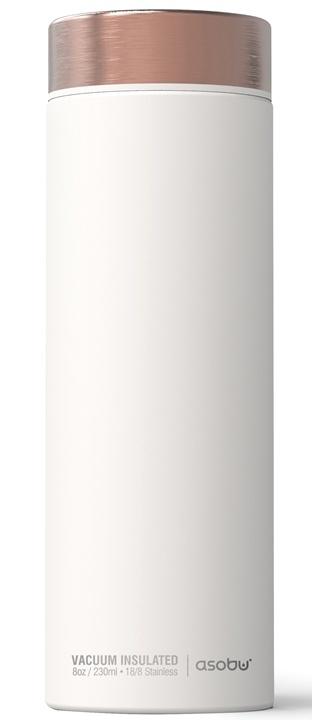 ASOBU luxusní termoska Le Baton white/copper 500ml