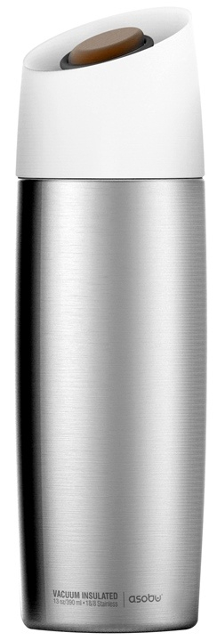 ASOBU dámská trendy termoska 5 Avenue stříbrná 390ml